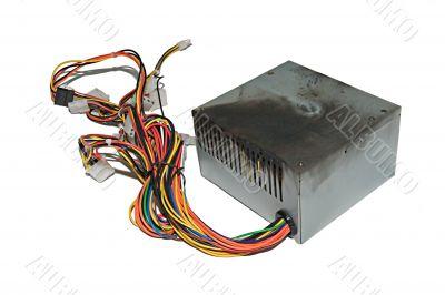 Burnt power supply
