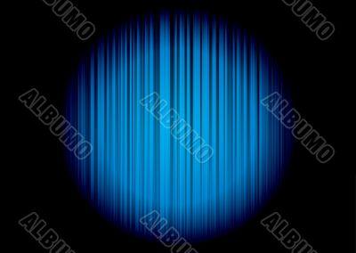 blue stripe circle