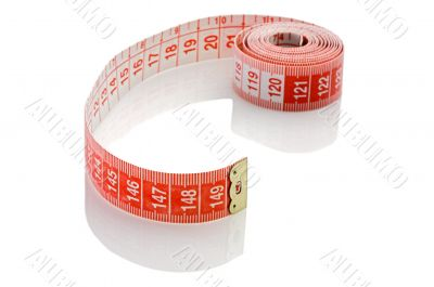 Tape rolled with Shallow Depth of Field