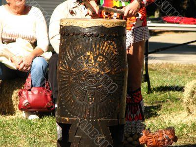 Aztec Drum