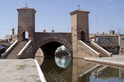 Comacchio - Famous bridge