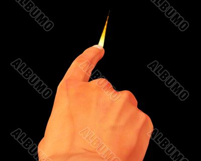 Flame Finger