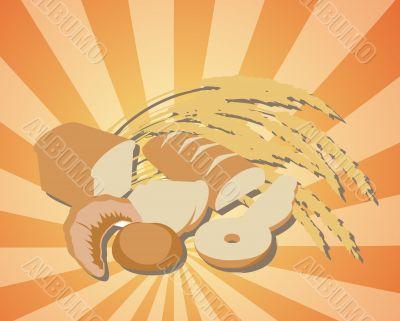 Abundance of bread