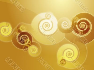Swirly spiral background