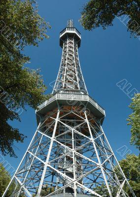 Viewing tower in  Mala Strana,Prague