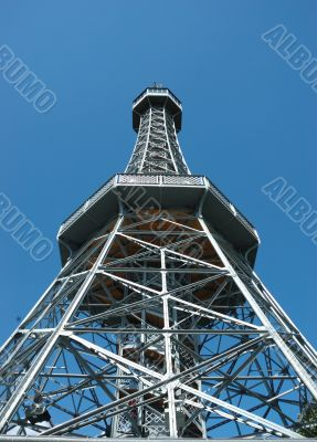 Viewing tower in Prague
