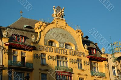 Grand Hotel Europa in Prague