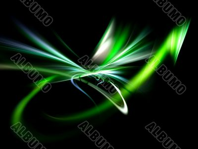 bright abstract futuristic background