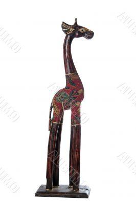 giraffe dressed high profile