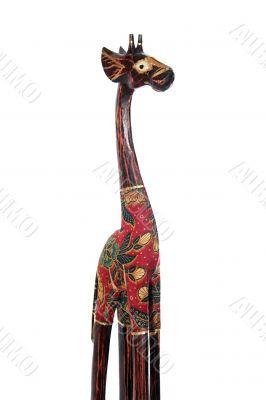 giraffe dressed short 3/4