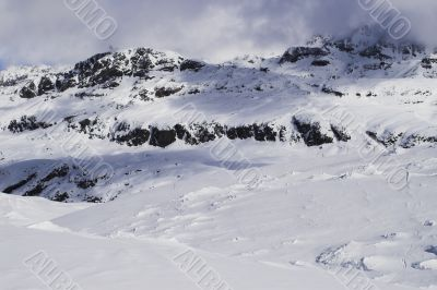 Ski vacation in Alpes