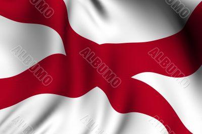 Rendered Alabama Flag