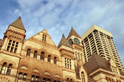 Old city hall of Toronto