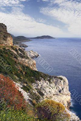 Mani peninsula, southern Greece