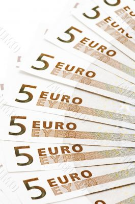 bank note five Euro