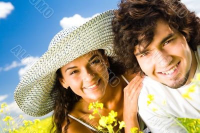Cheerful people