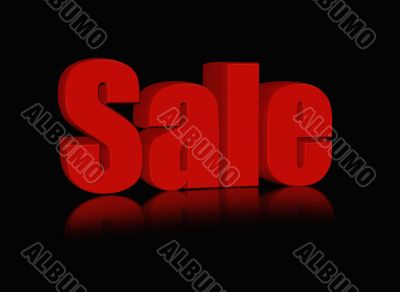 red sale word