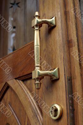 Old-fashioned door-handle