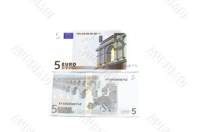 Euro bank-note macro