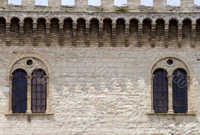 Arcevia - Historic Palace, detail