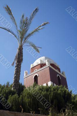 arab tower at murcia
