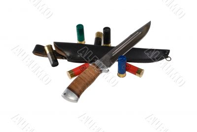 The hunting knife