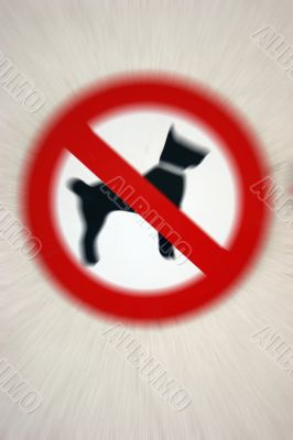 Dogs banned