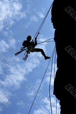 man-climber & ropes