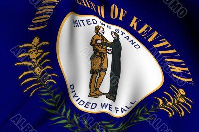 Rendered Kentucky Flag