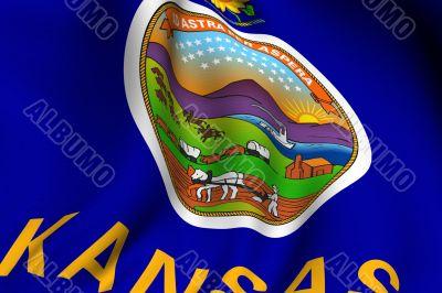 Rendered Kansas Flag