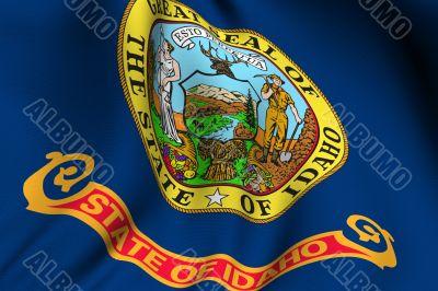 Rendered Idaho Flag