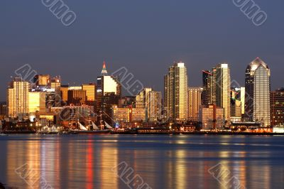 Downtown of San Diego