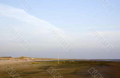 beach view of ameland , the netherlands