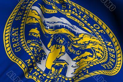 Rendered Nebraska Flag