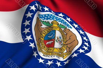 Rendered Missouri Flag