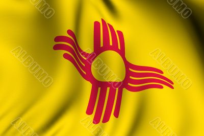Rendered New Mexico Flag