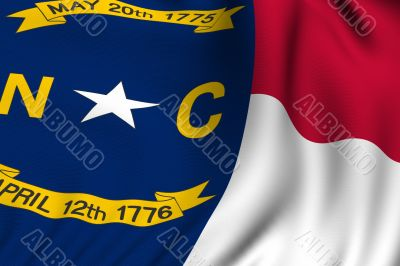 Rendered North Carolina Flag