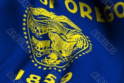 Rendered Oregon Flag