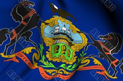 Rendered Pennsylvania Flag