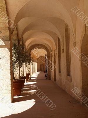 People`s hospice corridor