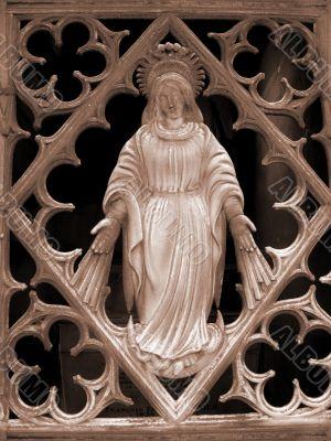 Tomb door ornament