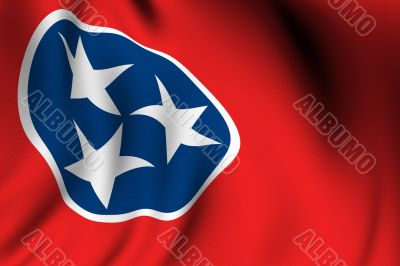 Rendered Tennessee Flag