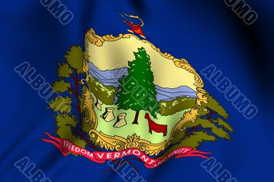 Rendered Vermont Flag