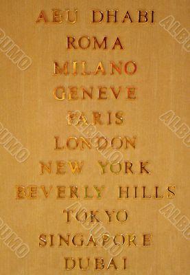 Famous Citys