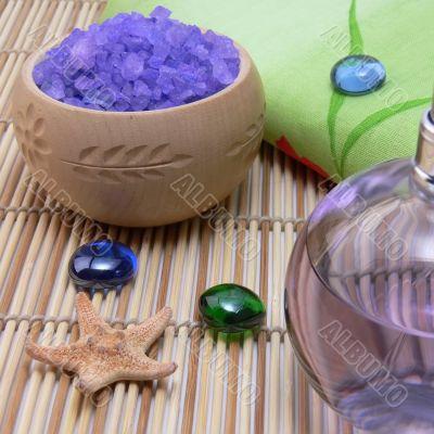 Aroma oil and sea salt