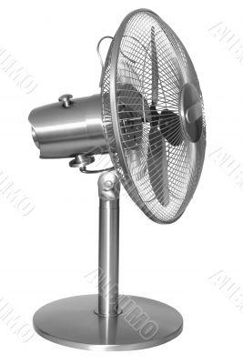 steel modern fan