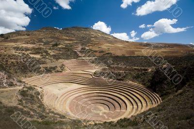 Inca Terraces of Moray