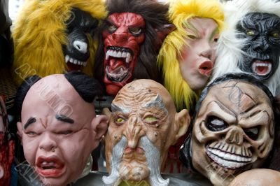 Masks for party and Carneval