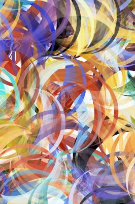Abstract painting styled background