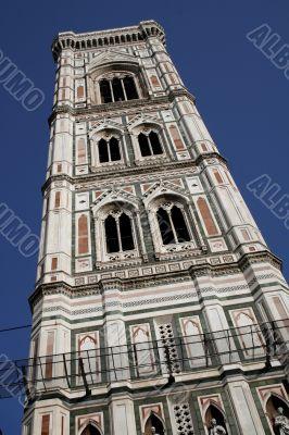 Tower of Santa Maria del Fiore church. Florence
